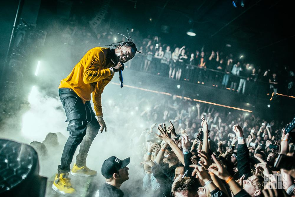 TRAVIS SCOTT ARRESTED FOR INCITING A RIOT