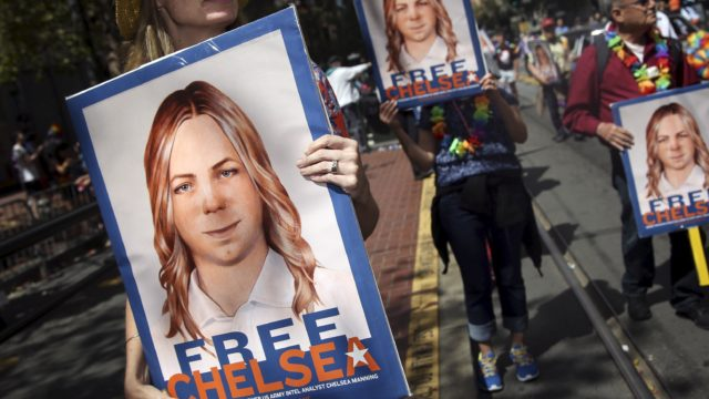 CHELSEA MANNING HAS BEEN FREED FROM PRISON