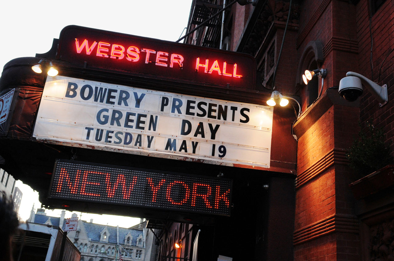 WEBSTER HALL IS CLOSING