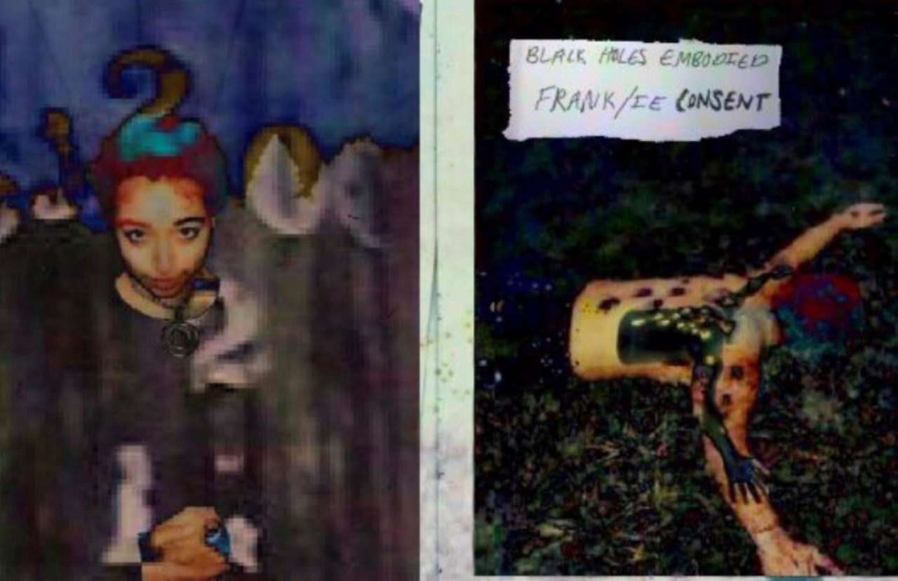 Listen to the world premiere of Frank/ie Consent Black Holes Embodied LP