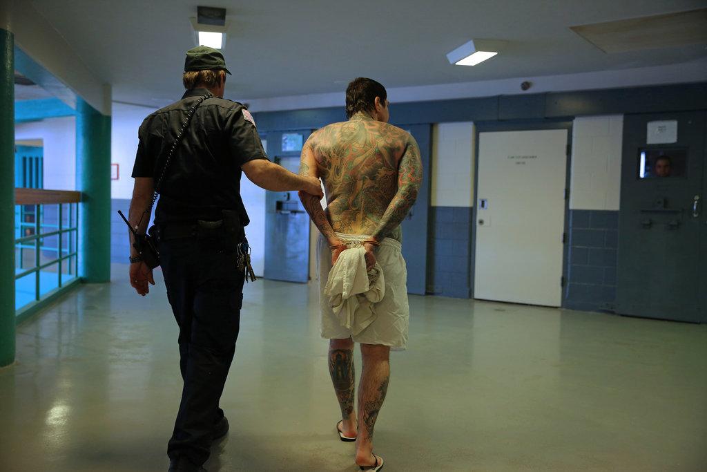 Prisoner on Rikers Island